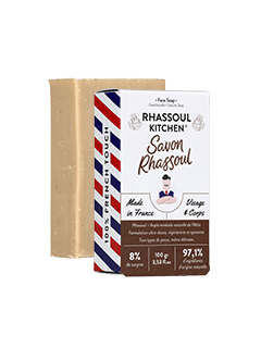 Savon surgras visage RHASSOUL KITCHEN-Monsieur BARBIER