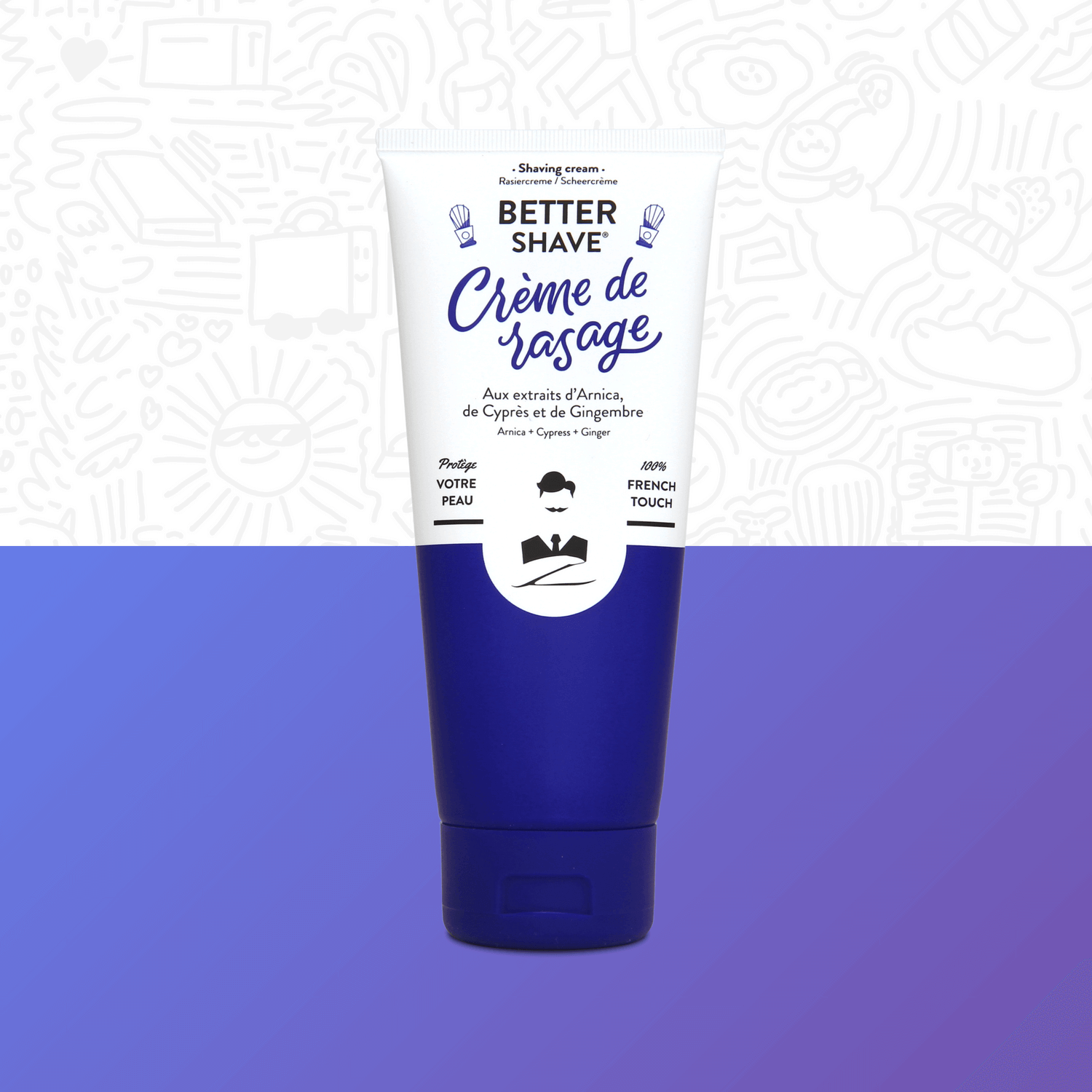 Better-Shave Creme Rasage