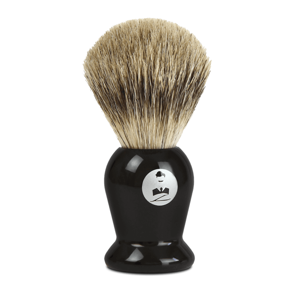 Blaireau de Barbier PURE BADGER Transparent - Monsieur BARBIER